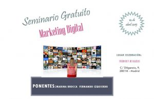Marketing digital, seminario gratuito