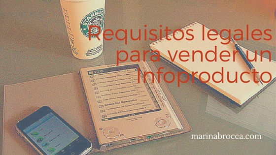 infoproducto: requisitos