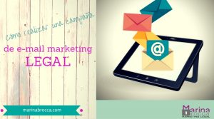 campaña estrategia mail marketing legal