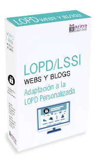 LOPD LSSI webs y blogs