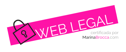 sello web legal Marina Brocca